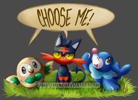 CHOOSE ME! by OnixTymime