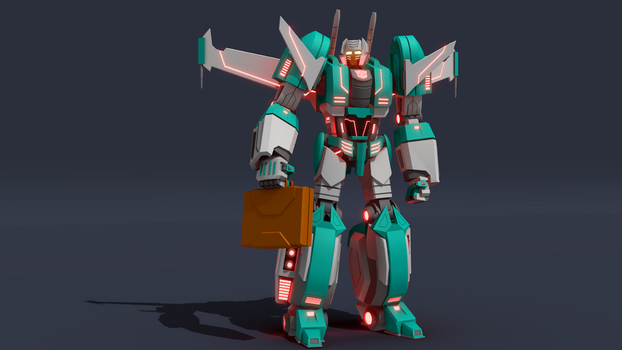 WFC Brainstorm Robot Model by ShadowElite217