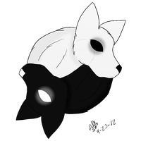 65. Black and White by CollectionOfWhiskers