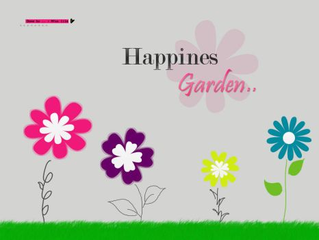 Happiness Garden by Miss-lilo