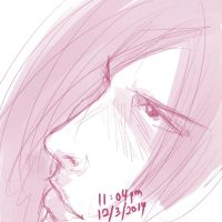Daily Sketches - Moody by real-hybridjunkie