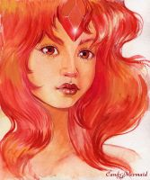 Flame Princess by CandyMermaid