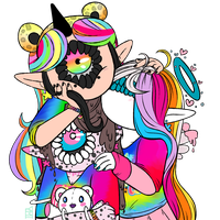 Lisa Frank Club Snuggle by YmiArt