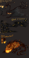 CLOSED DTA Halloween Creatures by Fokron