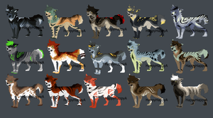 canine adoptables  {closed} by HappyHappyA