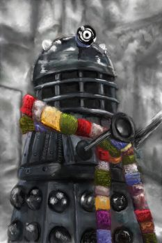 The fourth Dalek by munkierevolution