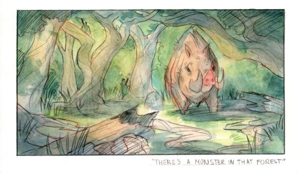 Daily Watercolor 41 by Tomsleeps