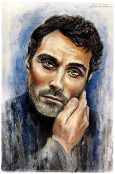 Rufus Sewell by MeduZZa13