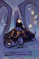 On the Turtle by ursulav