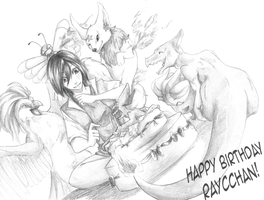 Happy Birthday Raycchan! by Antarija