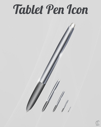 Tablet Icon Pen by cioue