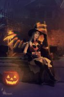 [Overwatch] The witch is in. by Hellfire-Valkyrie