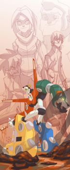 V for VOLTRON by cheeks-74