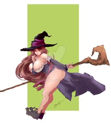 ( Dragons Crown ) Sorceress Series: 1 by BulbaBruno