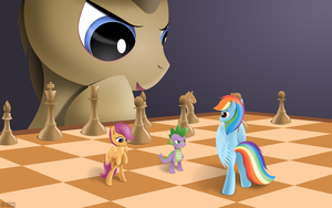 Scootaloos gambit - cover by roadsleadme