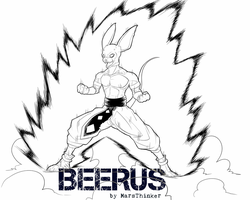 Beerus by MarsThinker