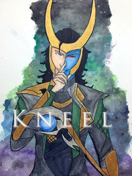 Loki Laufeyson - Kneel by Xxkitty-GOES-rawrxX