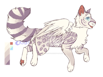 Feline angel adopt auction | closed by oOMoonriver-adoptsOo