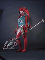 Mipha Breath of the Wild Cosplay Photo #002 by LaraWegenaerArts