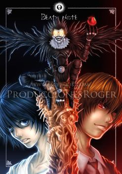 Death Note by RogerGoldstain