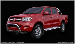 Toyota Hilux by diegoreales