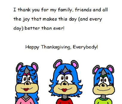 Thanksgiving with my Family by ShannaImprov