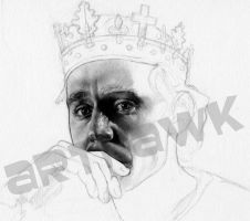 Tom Hiddleston as Prince Hal - WIP1 by arthawk87