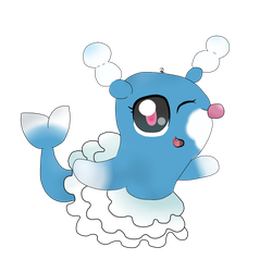 Pokemon Brionne  by DanellaScattolon