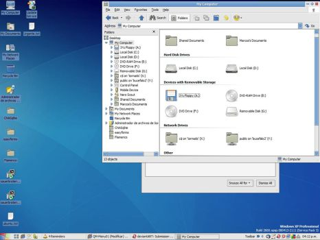 Gnome 2.19.90 by Drizzt-Kueh