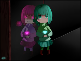 Amber (Glitchtale) by Lysame