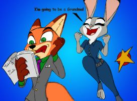 Judy and Nick get a peek at TAS3 by Jafethortiz by crewefox