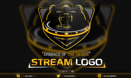 Embrace of the Grinds - Stream logo design by Arcaste