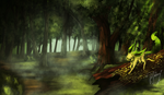 The Forest is Waking Up by Shivannie