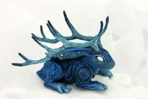 Moon King jackalope II by hontor