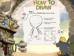How To Draw Panther Cap Part One by Tinker-Jet