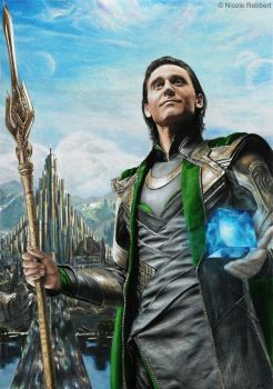 Loki - King of Asgard by Quelchii