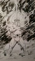 Lion-o Sword of Omens Inks  by SaviorsSon