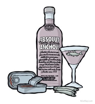 Absolut Anchovi by Randy-Coffey