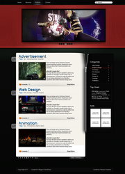 Blog Template by MrMenace