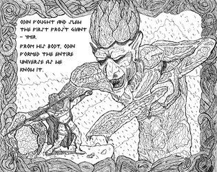 The Slaying Of The First Frost Giant by TomOfTheWode