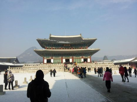 Gyeongbokgung Palace by DarthShinji