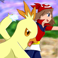 -- Combusken and May -- by pdutogepi