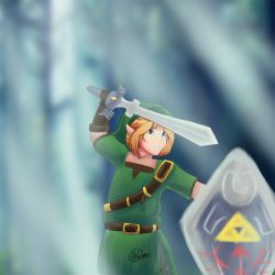 Link : The Legend Of Zelda by Lionking17