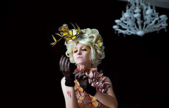 The Hunger Games - Effie Trinket 1 by Cheza-Flower