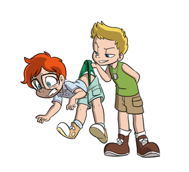 Sebastian and Jamie Wedgie - by Tato by omutso2