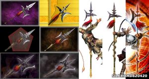 Lu Bu Weapons by silkroad820420