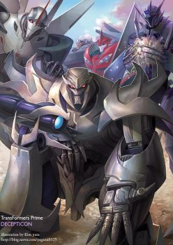 Transformers prime decepticon by GoddessMechanic