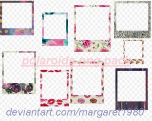 polaroids png pack by Margaret1980