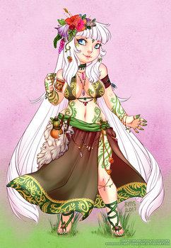 softpurr druid outfit by gerbilfat