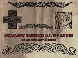 Ornament Brushes 2.0 by nathies-stock